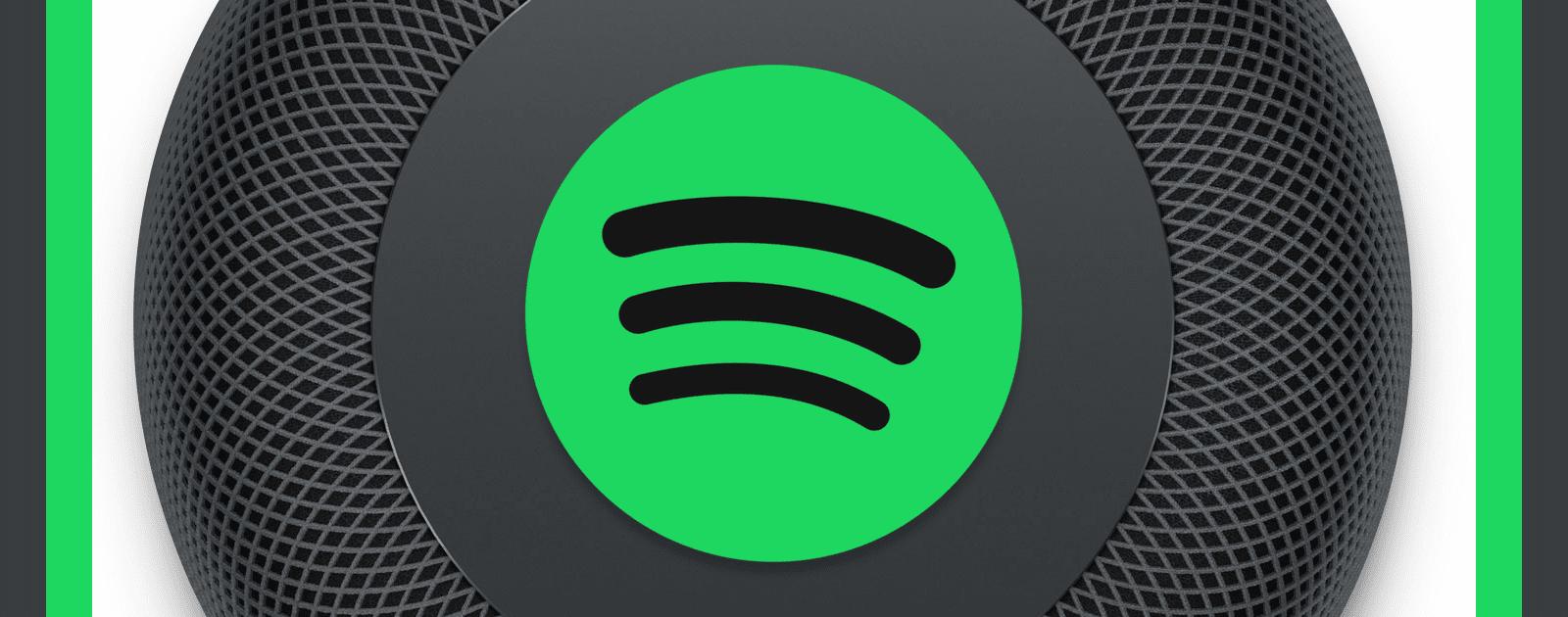 Homepod Spotify
